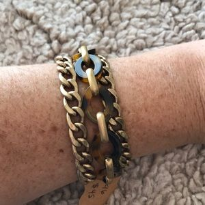 Chloe and isabel link bracelet